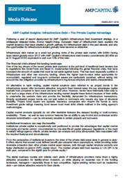 AMP Capital Insights: Infrastructure Debt – The Private Capital Advantage