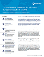 the new normal turned into the old normal our economic outlook for 2018