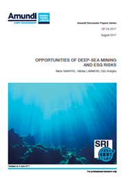 opportunities of deep sea mining and esg risks