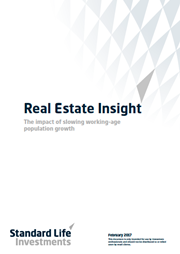 the impact of slowing working age population growth
