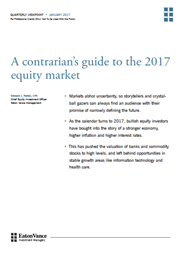 a contrarians guide to the 2017 equity market