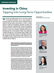 Investing in China: Tapping into Long-Term Opportunities