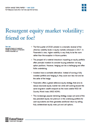 eaton vance an alternative to hedging downside risk