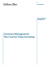 currency management the case for value investing