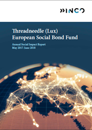 Threadneedle (Lux) European Social Bond Fund - Annual Social Impact Report