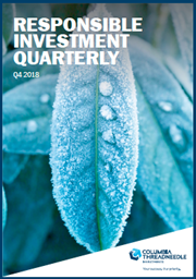 Responsible Investment Quarterly Q4 2018