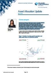Asset Allocation Update - MAY 2019