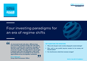 four investing paradigms for an era of regime shifts