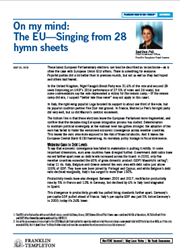 Fixed Income: The EU—Singing From 28 Hymn Sheets