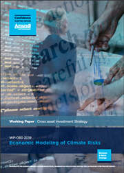 Economic Modeling Of Climate Risks