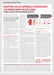 adopting an ldi approach throughout the investment chain