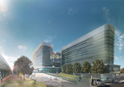 rendering of ibm office rome