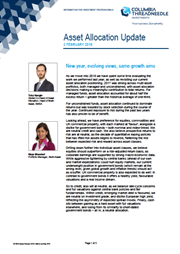 asset allocation update new year evolving views same growth aims