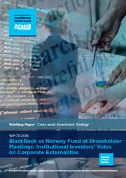 blackrock vs norway fund at shareholder meetings