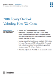 2018 equity outlook