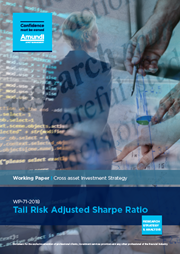 tail risk adjusted sharpe ratio