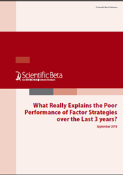 What Really Explains the Poor Performance of Factor Strategies over the Last 3 Years