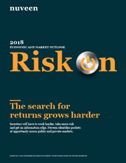 2018 economic and market outlook risk on