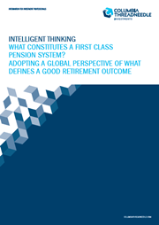 [Full paper] What constitutes a first class pensions system? Adopting a global perspective of what defines a good retirement outcome index