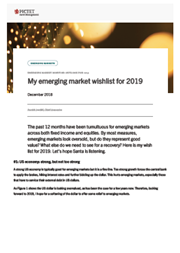 My emerging market wishlist for 2019