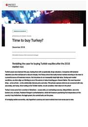 Time to buy Turkey?