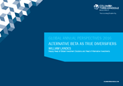 Global Annual Perspectives 2016: Alternative beta as true diversifiers index