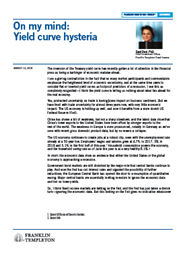 On my mind: Yield curve hysteria