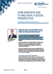 How Airports Are Flying High: A Social Perspective