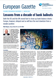 Lessons from a decade of bank bailouts
