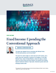 Fixed Income: Upending the Conventional Approach