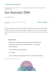 our thematic dna