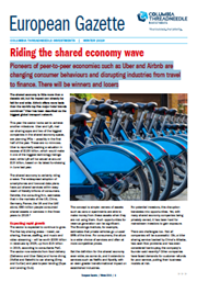 Riding the shared economy wave