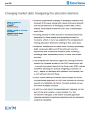 Emerging market debt: Navigating the allocation dilemma