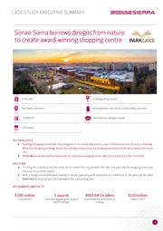 sonae sierra borrows designs from nature to create award winning shopping centre