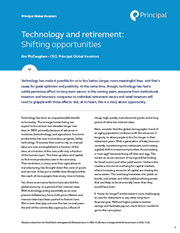 technology and retirement shifting opportunities