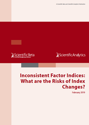 Inconsistent Factor Indices: What are the Risks of Index Changes?