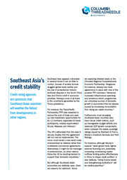 southeast asias credit stability