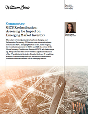 gics reclassification assessing the impact on emerging market investors