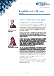 asset allocation update strong earnings prompt us equities upgrade