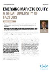 em equity a great diversity of factors