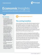 economic insights april 2017