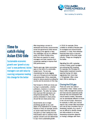 time to catch rising asian esg tide