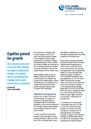 equities poised for growth