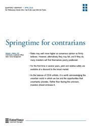 springtime for contrarians