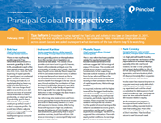 global perspectives us tax reform
