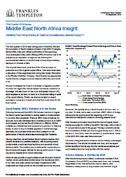 Middle East North Africa Insight - Perspective From Franklin Templeton Emerging Markets Equity