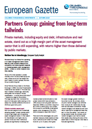 Partners Group: gaining from long-term tailwinds
