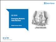 Q3 2019 - Emerging Markets Debt Monitor
