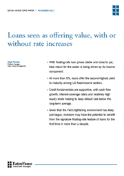 loans seen as offering value