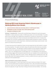 2018 11 07 warburg hih invest acquires historic warehouses copy